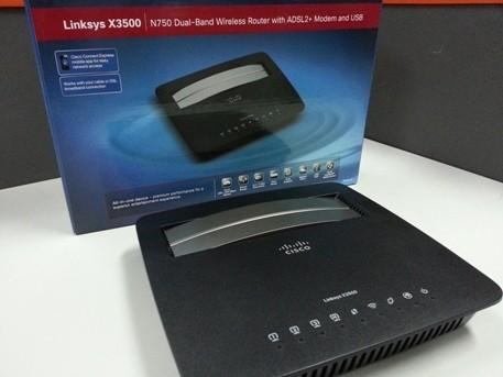 Linksys X3500, Router Pintar Kaya Konektivitas