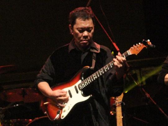Aksi Para Musisi di Panggung Jakarta Blues Festival 2013