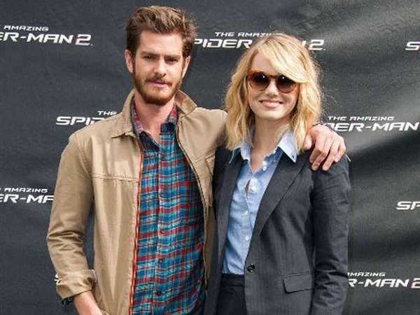 Emma Stone dan Andrew Garfield Makin Mesra