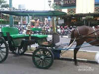 Kereta kuda di Malioboro
