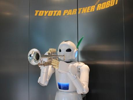 Robot Toyota (syu/detikINET)
