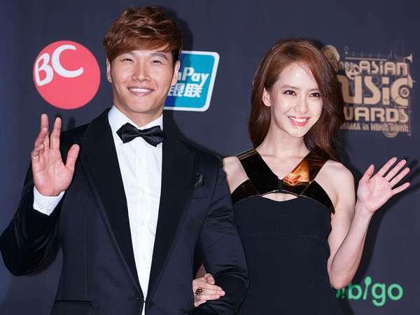 Serasinya Song Ji Hyo dan Kim Jong Kook