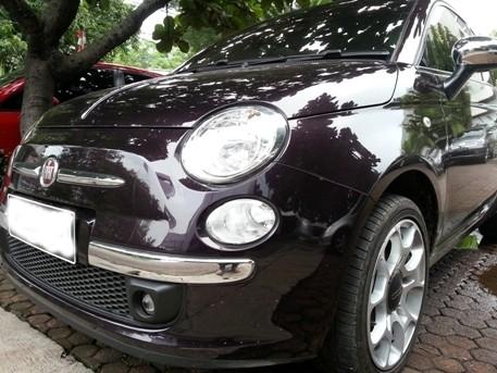 Menjajal Teknologi Pintar Mobil Fiat 500