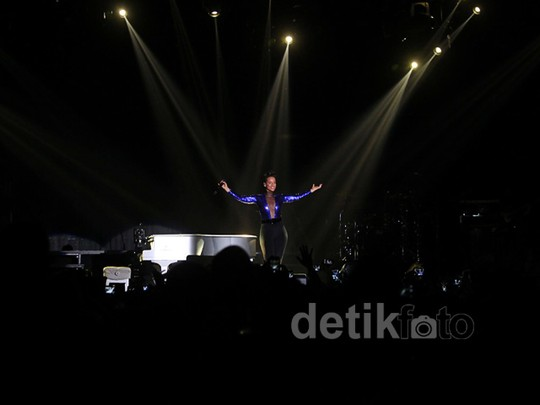 Konser Kedua Alicia Keys di Jakarta