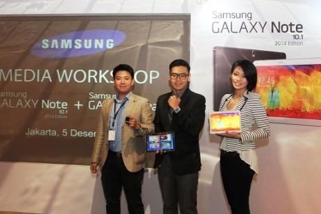 Kencan Singkat Galaxy Note 10.1 2014 Edition