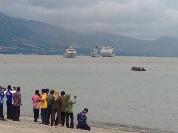 Para pengunjung di hari Nusantara (Sastri/detikTravel)