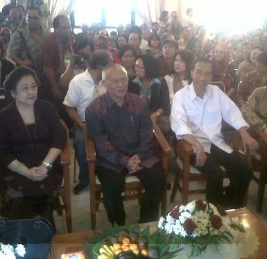 Nyapres Bareng Jokowi? Megawati: Sabar Saja