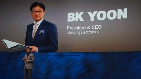 BK Yoon, Presiden & CEO Samsung Electronics (eno/detikINET)
