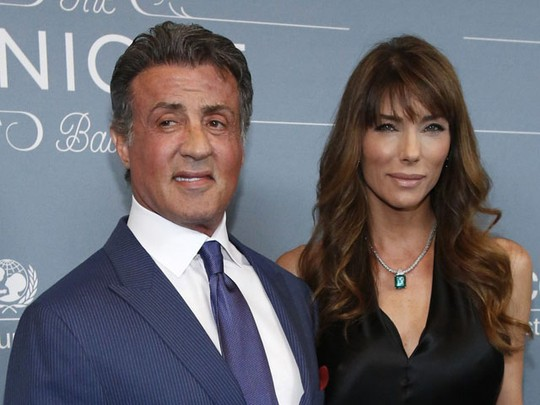 Keserasaian Sylvester Stallone dan Istri