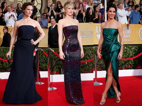 Suasana Glamor di Red Carpet SAG Awards 2014
