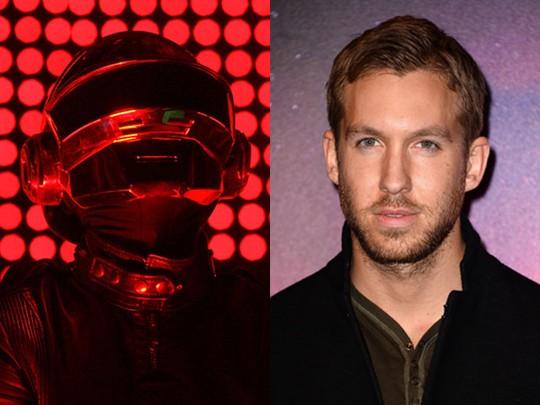 Daft Punk vs Calvin Harris di Nominasi Best Dance Album
