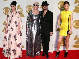 Suasana Red Carpet Grammy Salute To The Beatles