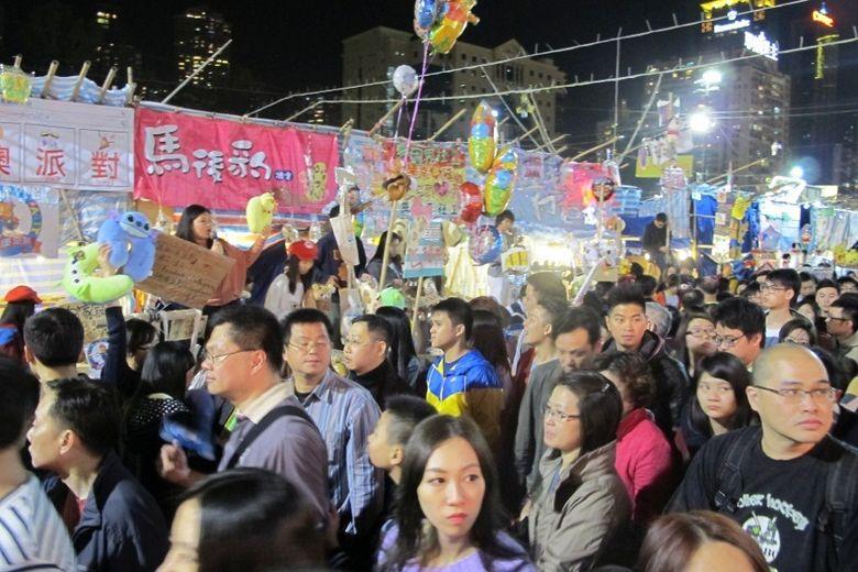 Victoria Park Tempat Paling Meriah Rayakan Imlek Di Hong Kong