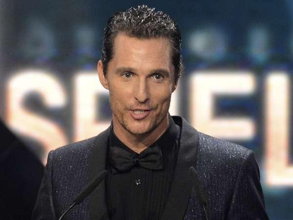 Best International Actor, Matthew McConaughey