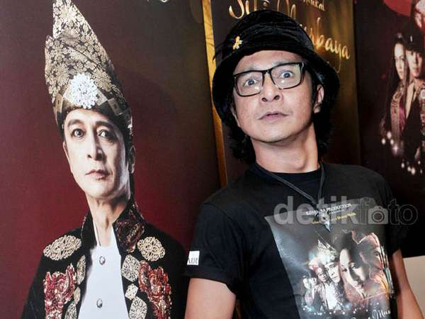 Andy /rif Jadi Datuk Maringgih di Drama Musikal