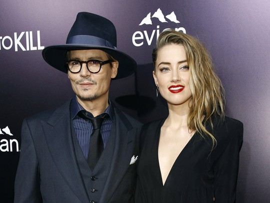 Johnny Depp dan Amber Heard Serasi di Red Carpet