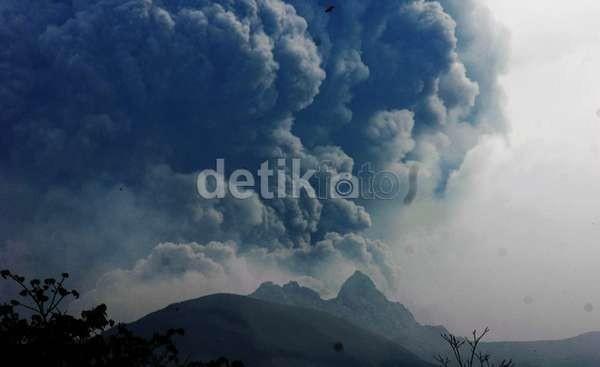 Letusan Dahsyat Gunung Kelud dari Masa ke Masa