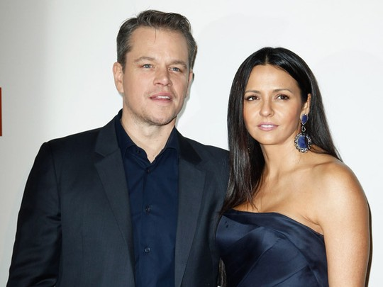 Keserasian Matt Damon dan Luciana Barroso