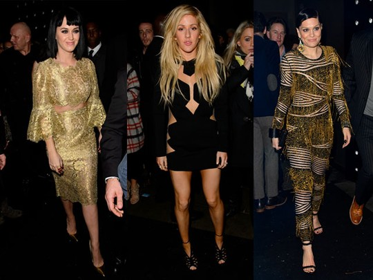 Gaya Para Musisi di After Party BRIT Awards 2014