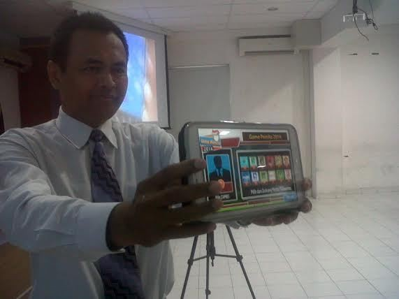 Tarik Minat Anak Muda Nyoblos, Dosen di Yogya Ciptakan Game Pemilu 2014