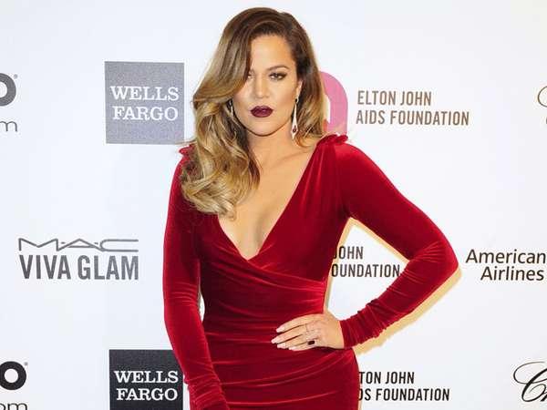 Khloe Kardashian Tak Kalah Seksi di Pesta Oscar