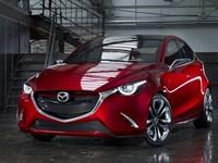 Menggunakan nama Mazda Hazumi, hatchback Mazda2 bakal lebih ideal dengan desain agresif ketimbang kompetitornya. (Istimewa/Mazda).
