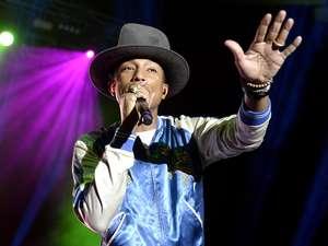 Pharrell Williams di Jakarta