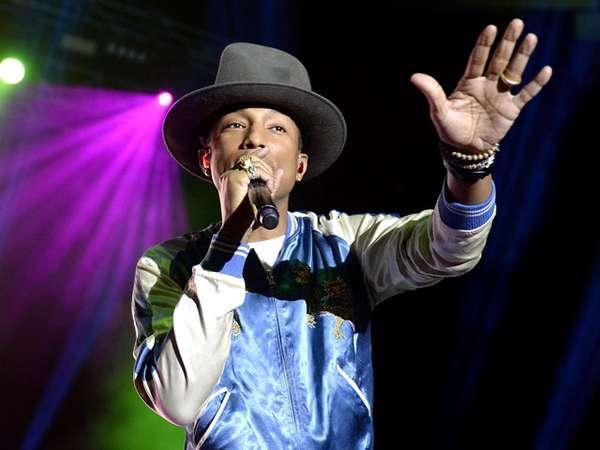 Pharrell Williams Sukses Hibur Fans di Australia