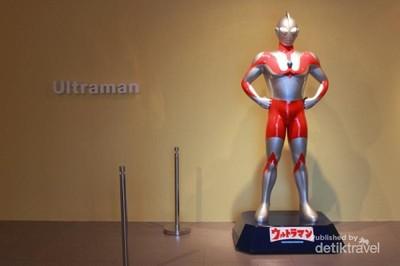 Ada Ultraman dan Gundam di Galeri Nasional Indonesia