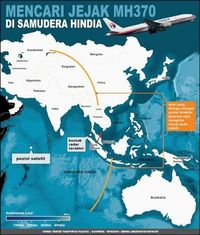 penampakan\u0027 mh370 lewat pencarian satelit di media sosial