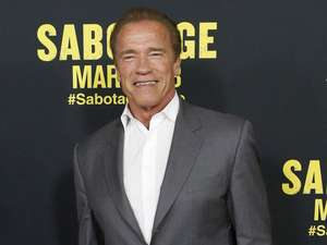 Arnold Schwarzenegger di Premiere Sabotage