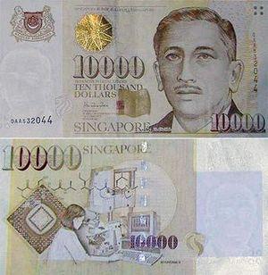 Soal Dolar Singapura Pecahan 10.000: Ada yang Kaget, Ada yang Pernah Pegang