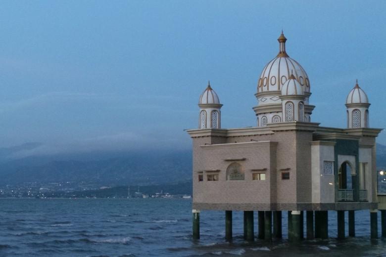 Inilah Masjid Arkam Babu Rahman di Palu (Afif/detikTravel)
