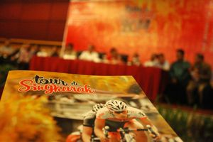 Tour de Singkarak 2014, Balap Sepeda Sambil Promo Wisata Sumbar