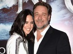 Russell Crowe Kecup Jennifer Connelly di Premiere Noah