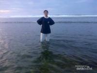 Pantai yang landai