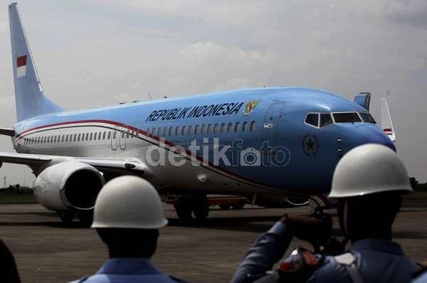 Ini Cara GMF Merawat Pesawat Kepresidenan RI agar Selalu Siap Terbang