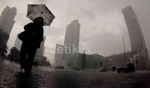 Diguyur Hujan, Ini Ruas Jalan di Jakarta yang Tergenang Air
