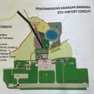 Foto: Konsep Bandara Kebun Binatang (Ayunda-detikFinance)