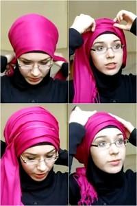 Tutorial Hijab Turban Simple Untuk Ke Pesta Pernikahan