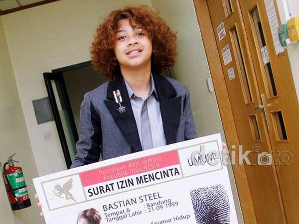 Bastian eks Coboy Junior Bikin Surat Izin Mencinta