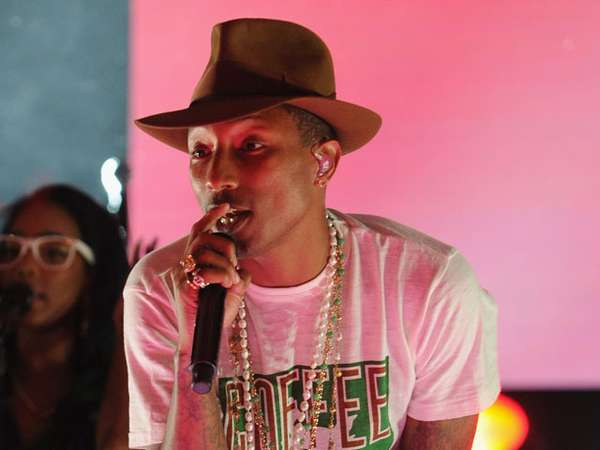 Pharrell Williams Happy di Sprint Sound Sessions