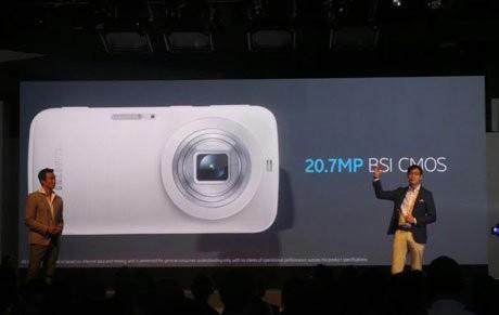 Galaxy K Zoom, Ini Ponsel atau Kamera?