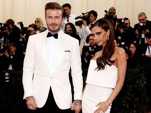 Pasangan Serasi Victoria dan David Beckham