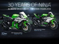 30 Tahun Ninja, Kawasaki Rilis 2 Motor Edisi Khusus