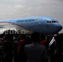 Terbang Perdana ke Luar Negeri, Pesawat RI 1 Mendarat Mulus di Bandara Myanmar
