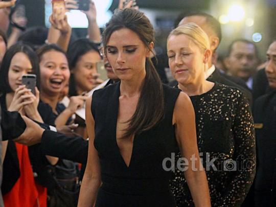 Victoria Beckham Luncurkan Aksesori di Jakarta