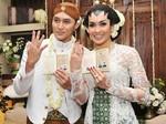Foto-foto Pernikahan Demian dan Sara Wijayanto