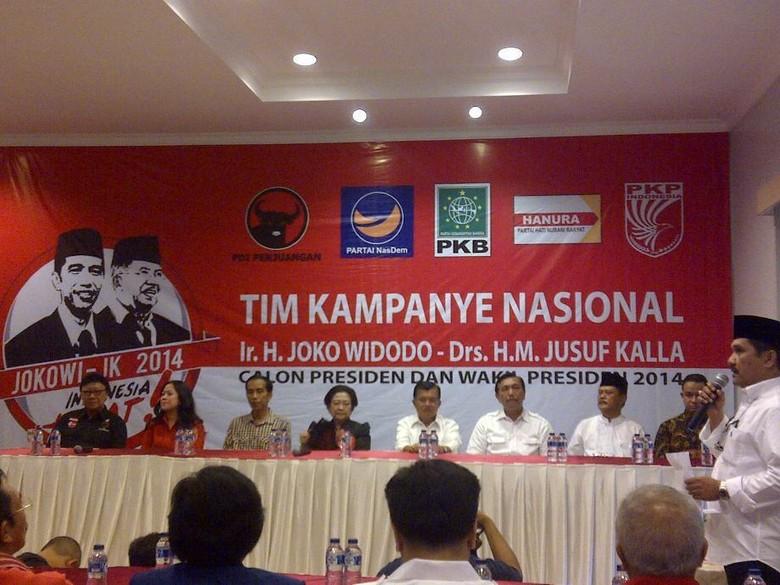 Jokowi-JK Resmikan Kantor Pusat Tim Kampanye Nasional