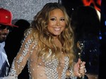 Mariah Carey Glam and Sexy di WMA 2014